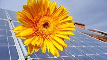 Solaranlage auf dem Dach für Grünen Strom