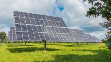 Solarpanel zur Ereugung von Solarenergie